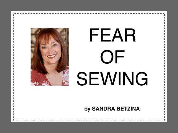 Fear of Sewing Cover