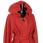 Vogue 1097 in red, boiled wool