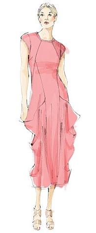 Vogue 1234 - Dress