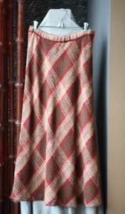 Vogue2911-Bias Skirt
